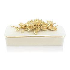 Jay Strongwater Jasmine Branch/Flower Box SDH7389-292