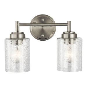 Bath 2-Light, Brushed Nickel