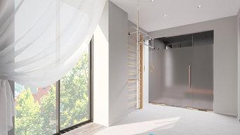 Дизайн-проект интерьера жилого дома в г.Владивостоке