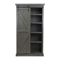 Rustic Provincial Pantry Red
