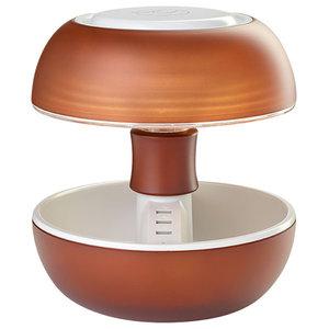 Joyo Translucent Table Lamp, Cocoa Brown