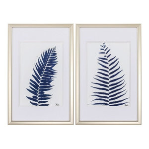 Indigo Ferns, 2-Piece Set