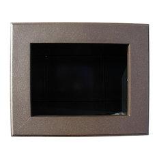 QualArc Manchester Newspaper Holder Box Cast Aluminum, Bronze