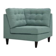 Upholstered Fabric Corner Chair, Laguna
