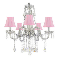 Authentic All Crystal Empress Crystal Chandelier