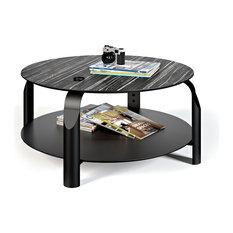 Scale Coffee Table Ebony/Ivory/Black