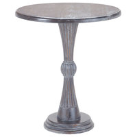 Sterling Modern Hour Side Table, Heritage Gray Dark Stain 7011-025