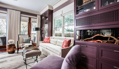 Room of the Day: Princess the Snake Reigns in a Luxe Library