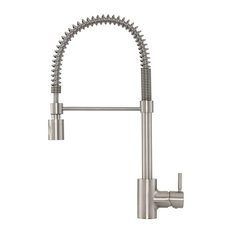 Danze DH451188 Foodie Pull Down Spray Kitchen Faucet, Stainless Steel