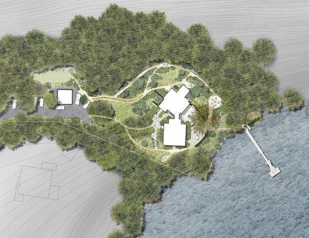 Rustic  by Matthew Cunningham Landscape Design LLC