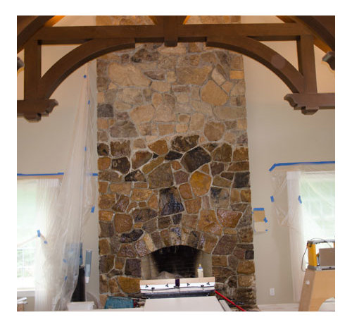 Stone Enhancement For Fireplace