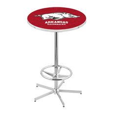 L216 - 42-inch Chrome Arkansas Pub Table By Holland Bar Stool Co.