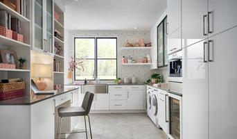 White Gloss / Matte Black Laundry