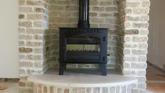 Stone Built Fireplace