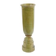 Ceramic Vase ,Green