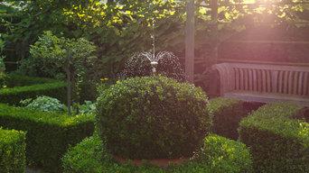 Wasserspiele für schönere Gärten