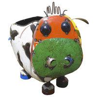 Barnyard Cow Outdoor Indoor decaorative Planter