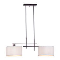 Most Popular Craftsman Kitchen Island Lights For Houzz - 2 light island pendant fixture
