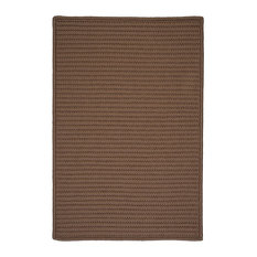 Colonial Mills, Inc - Colonial Mills Simply Home Solid H286 Cashew Rug, 12x12 - Outdoor Rugs