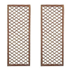 Selections Willow Trellis Framed Panel 180x60 cm, Set of 2