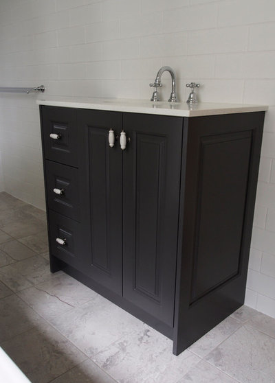 Contemporary Bathroom by Kitchens by Kathie
