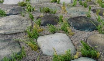 Tapis laine & lin et céramique