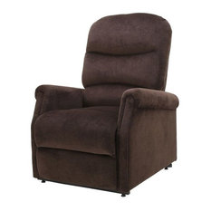 Perfect GDFStudio   Alan Fabric Lift Up Recliner Chair, Chocolate   Lift Chairs