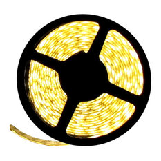 12V Warm White Flexible LED Light Strip 16' Reel Only