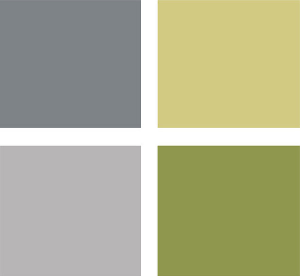 Living Room Colors Green 9 fashionably cool living room color palettes