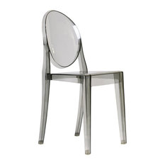 Ghost Acrylic Side Chair Smoke