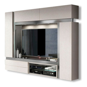 Saphire TV01 TV Wall Unit  High Gloss  81  Macral Design