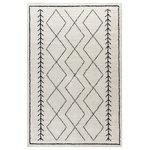 Butler Specialty Company - 5' x 7' Ultra-Soft Micro Polyester Geometric Bohemian Style Shag Area Rug - Description: