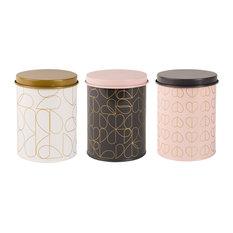 Beau and Elliot 3-Piece Set Champagne Edit Storage Tins