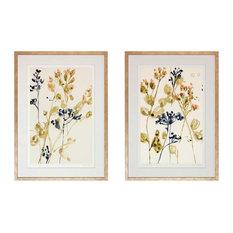 Watercolor Blossoms Framed Art Print