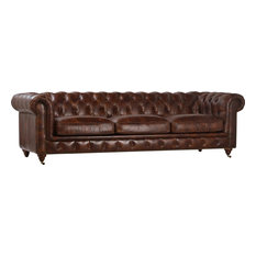 Sofa DOVETAIL LAGUNA Genuine Full-Grain Cow