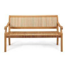 Giva Outdoor Teak Bench, 4'