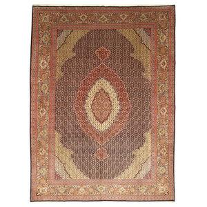 Tabriz 50Raj Oriental Rug, Hand-Knotted Classic, 400x310 cm