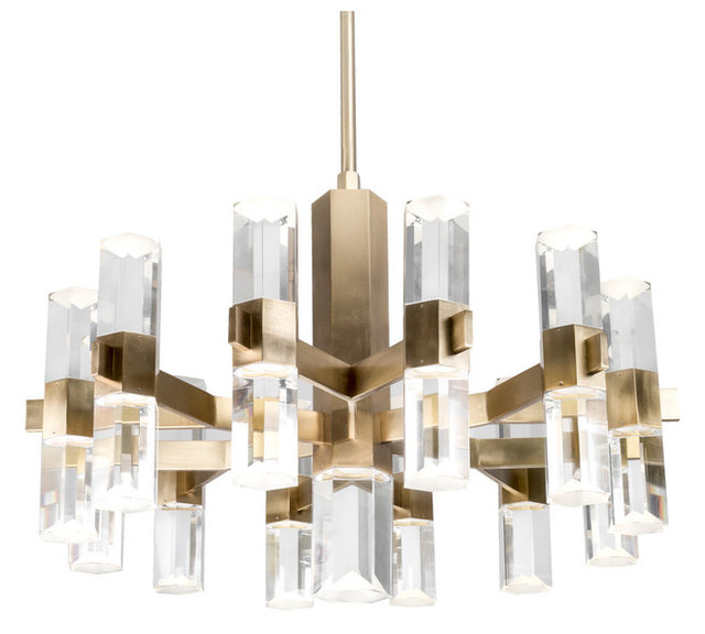 Kuzco lighting ch9432 holm led chandelier