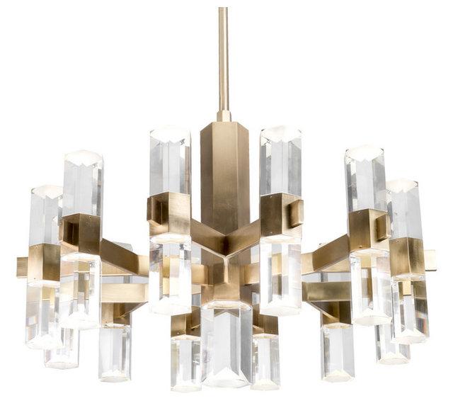 Kuzco lighting ch9432 holm led chandelier