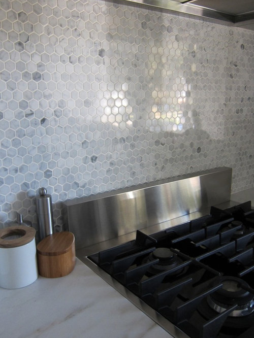 Hexagon Tile Backsplash Ideas Pictures Remodel And Decor