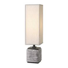 Uttermost Ciriaco Buffet Lamp, Antique Silver