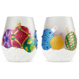 Contemporary Holiday Drinkware by American Glassware
