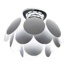 Marset Discoco Ceiling Light, White, Medium