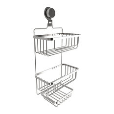 Lavish Home   Wall Mounted 3 Tier Shower Caddy By Lavish Home   Shower  Caddies
