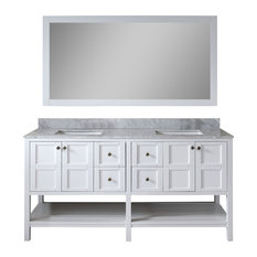 Double Vanity Bathroom Houzz double sink bathroom vanities | houzz