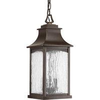 Maison 2 Light Outdoor Pendant or Chandeller in Oil Rubbed Bronze