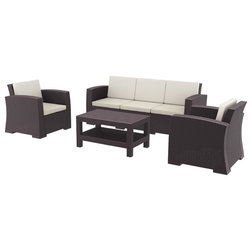 Tropical Outdoor Lounge Sets by Homesquare