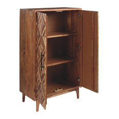 Signature Design By Ashley Gabinwell Accent Cabinet In Two Tone Brown