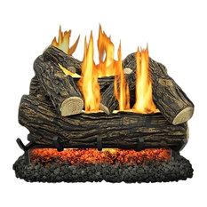 "Kozy World Vented Gas Log Set, 18"""