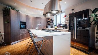 Rotazione a 45 gradi_la cucina living